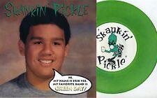 """Skankin' Pickle - Hi, My Name Is... 7"""" GREEN VINYL Voodoo Glow Skulls Ska Punk"""