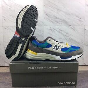 New Balance M992RR Tan Green Grey M992RR Shoes Men's Size 7.5
