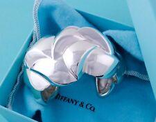 Rare, Unique, Stunning Tiffany & Co Vintage Silver Braid Cuff Bangle Bracelet