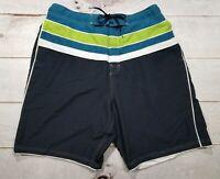 Speedo Watershorts Men's XXL 2XL XL Swim Trunks Board Shorts Navy Green