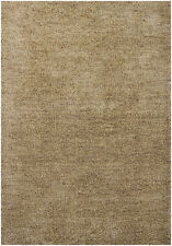5x8' Chandra Rug  Sterling Hand-woven Contemporary Shag  Polyester STE21800-576
