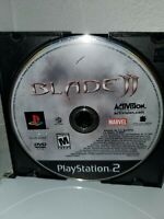 Blade II 2 PS2 Playstation 2 Complete GOOD CONDITION TESTED WORKING