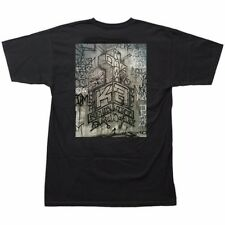 Dogtown Kevin Ancell Graffiti Art Skateboard T Shirt Black Medium
