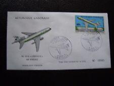 GABON - enveloppe 1er jour 19/3/1973 (B1) stamp