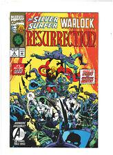 Silver Surfer/Adam Warlock Resurrection #2 NM- 9.2 Marvel Comics 1993