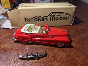 BROOKLIN MODELS 1948 BUICK R/MASTER AUSTRALIAN Limited Edition RED