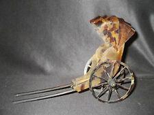 ancien pousse-pousse miniature artisanal souvenir de colonie Chine fin XIX ème