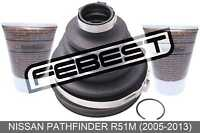 Boot Outer Cv Joint Kit 105X106X31 For Nissan Pathfinder R51M (2005-2013)
