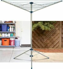 MINKY 15M FREE STANDING PORTABLE ROTARY AIRER...INDOOR & OUTDOOR..ONLY £21.99!!