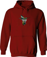 Bee Hummingbird Fly Unisex Mens Women Pullover Sweatshirt Hoodie Sweater S~3XL