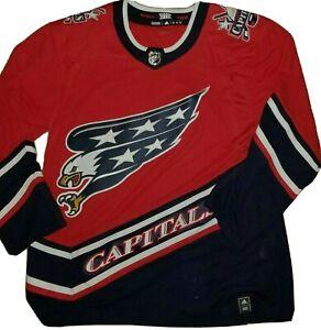 Adidas Washington Capitals Ovechkin NHL Reverse Retro Authentic Eagle Jersey