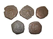 Spanish Pirate pocket change Cob 8 Maravedis coin Castle, Lion 1 per bid