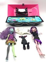 Monster High Create a Monster Design Lab Dolls Wigs Tattoos Outfits Shoes
