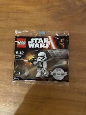 Lego Star Wars 30602 - First Order Stormtrooper - Brand New Sealed
