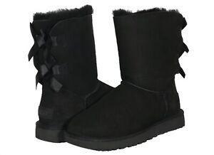UGG Bailey Bow II Women's Boots in Black 1016225-BLK