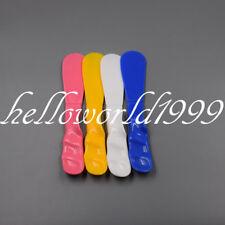 Dental Alginate Mixing Plaster Spatula 5 Pcs Plastic 4 Color Equipment Dentist