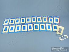 20 Leviton Decora COMMERCIAL 1-Gang Almond Screwless Wallplate GFI Cover 80301-A