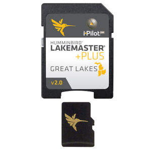HUMMINBIRD LAKEMASTER PLUS CHART - GREAT LAKES EDITION