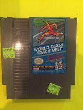 Nintendo Nes World Class Track Meet