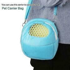 Pet carrier pouch with strap for small Pets hamsters,gerbils, rats,fancy mice