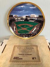 Sports Impressions Yankee Stadium Collector Plate 700/5000 Large Stadium Series