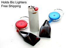 Lighter Leash Retractable UNIVERSAL Cigarette BIC Lighter Leash Holder  Popular