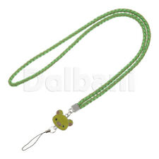 Multifunctional Lanyard Large Green Bear Face for Android Devices