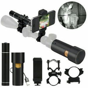 Infrared Night Vision Rifle Scope System DIY IR Camera 12mm HD Large Viewing
