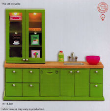 Lundby 60.2077 Smaland Küchenmöbel Spühle Schrank  1:18