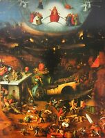 The Last Judgment Hieronymus Bosch 1486 Unframed Art Print Saints Religious