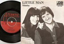 SONNY AND CHER LITTLE MAN & MONDAY SWEDISH 45+PS 1966 MOD BEAT SOUL PSYCH BEAT