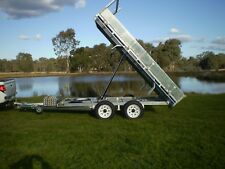 NEW GAL FLAT TOP TIPPER TRAILER 12FT X 7FT AND 3500KG GROSS