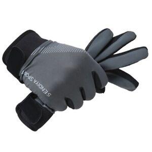 1 Pair Full Finger Touchscreen Breathable Summer  MTB Gloves