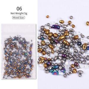 Nail Art Crystal Rhinestones Multi-size Stones Mix Colour Accessories 3D DIY Nai