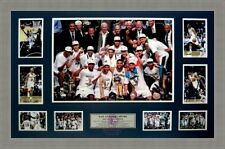 SAN ANTONIO SPURS 2014 NBA CHAMPIONS TRIBUTE COLLAGE FRAMED TONY PARKER