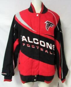 Atlanta Falcons Womens Size Medium Twill Jacket A1 2777