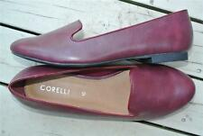 NEW rrp $49.99 Corelli Shoes. Albert Design Smooth Maroon Size 10 SLIP ON FLATS