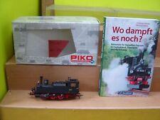 "Piko HO 50050 Dampflok BR 89.2 der DRG m. Digital + Buch ""Gebraucht""(041)"