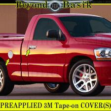 2002-08 RAM 1500 03-09 2500/3500 05-11 Dakota Chrome Door Handle Covers W/PK+Gas