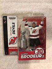 McFarlane NHL MARTIN BRODEUR 2 Series 9  New Jersey Devils Figure w/ Stanley Cup