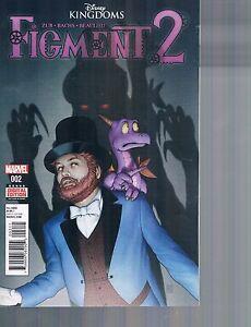 Figment 2 #2 regular & action figure variant covers Disney Kingdoms Marvel 2015