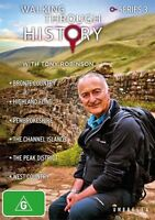 Walking Through History With Tony Robinson : Series 3 (DVD, 2015, 2-Disc Set)