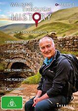 Walking Through History With Tony Robinson : Series 3 (DVD, 2-Disc Set)