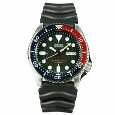 Seiko SKX009 J1 Automatic Blue & Red Mens Analog Divers Watch (Made in Japan)