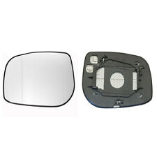 TOYOTA AVENSIS 2006->2009 DOOR/WING MIRROR GLASS SILVER,HEATED & BASE LEFT SIDE
