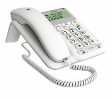 BT Decor 2200 White Corded Telephone + Caller Display Handsfree & 1571 Button