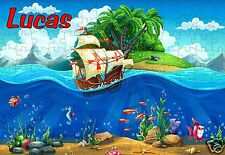 puzzle pirate REF 75GM - 252 PIECES AVEC OU SANS  PRENOM