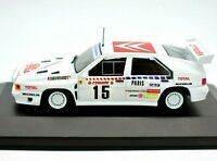 Model Car Citreon Bx Rally Scale 1/43 diecast modellcar IXO Rallye WRC