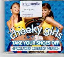 (FK632) The Cheeky Girls, Take Your Shoes Off - 2003 CD