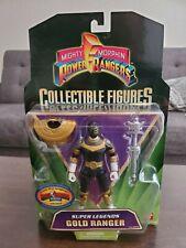 Mighty Morphin Power Rangers Collectible Figures Super Legends Gold Ranger
